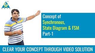 Synchronous, State Diagram & FSM (Part-1)