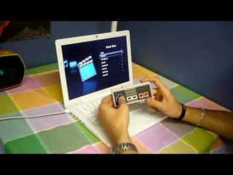The NES Controller Apple Remote Hack