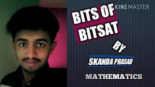 BITS Of BITSAT! - 15   Mathematics   Limits,Differentiation,Trigonometry,Coordinate Geometry   #35😎