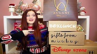 MASSIVE DISNEY COLLECTIVE HAUL | AULANI. BOXLUNCH. HOT TOPIC. GIFTS FROM MICKEY & MORE