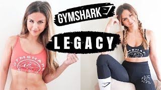 GYMSHARK NEW RELEASES LEGACY FITNESS COLLECTION TRY ON HAUL + REVIEW | ASHLEY GAITA