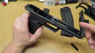 How polymer gun parts are made