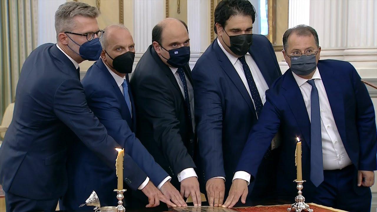 Ορκίστηκαν οι νέοι υπουργοί και υφυπουργοί της κυβέρνησης