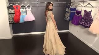 Long Chiffon Prom Gown 79132  | Jovani