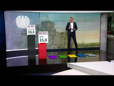 Bundestagswahl 2017: Das ist die erste Prognose