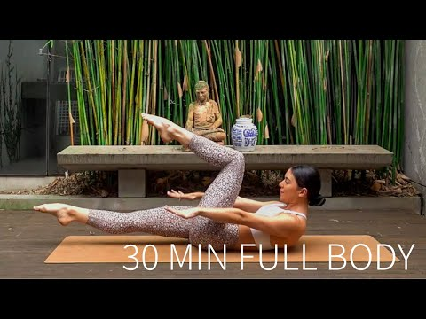 30 MIN FULL BODY WORKOUT | At-Home Pilates