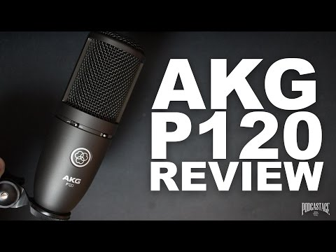 AKG P120 Condenser Mic Review / Test