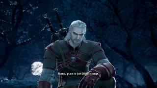 SOULCALIBUR 6 - Geralt vs Groh Gameplay & Geralt Finisher (Soul Edge) PS4 Pro