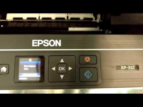Lösung für vermeintliche Fehlermeldung: Keine Original Tinte Epson XP 332