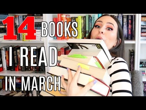 MARCH WRAP UP 2018 || 14 Books I Read This Month!