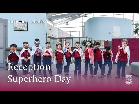 День супергероев в классах Reception