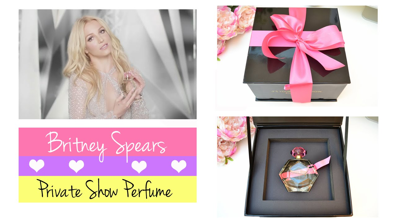 Britney Spears Private Show Perfume - Feature and Beauty Blog Review #TakeABow