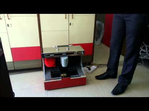 Indo Hygiene SS Shoe Shining Machine