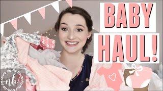 BABY GIRL CLOTHING HAUL!  👶🏻 🎀 🌸     Natalie Bennett