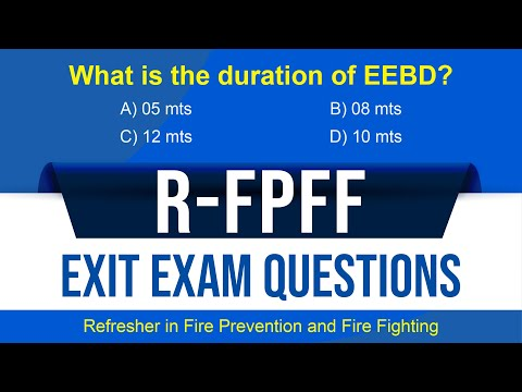 RFPFF Exit Exam Questions with Explanation   Part 1   H. V. Rajesh ...