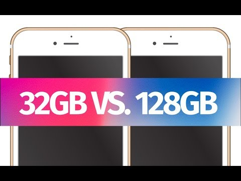 What is the difference between: iPhone 6s 32b vs 128gb - iPhone 6s Plus 32gb vs. 128gb