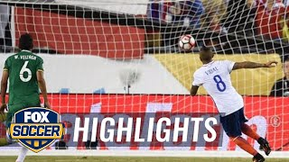Arturo Vidal's game-winning stoppage-time penalty vs. Bolivia | 2016 Copa America Highlights by FOX Soccer