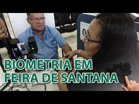 TRE-BA Notícias - Recadastramento biométrico em Feira de Santana