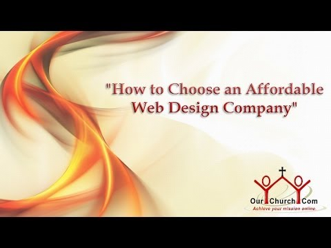 How to Choose an Affordable Web Design Company