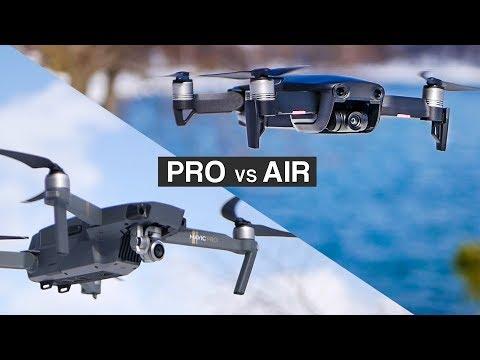 DJI MAVIC AIR VS DJI MAVIC PRO   Complete in-depth filmmaker REVIEW