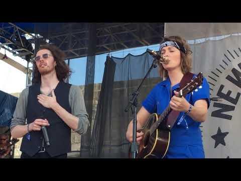 "Brandi Carlile with Hozier ""The Joke"" Live at Newport Folk Festival, July 28, 2019"