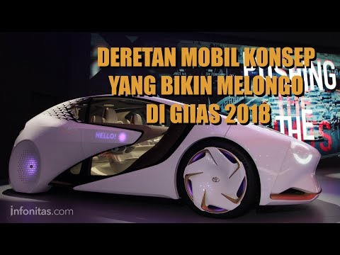 Deretan Mobil Konsep Yang Bikin Penasaran di GIIAS 2018