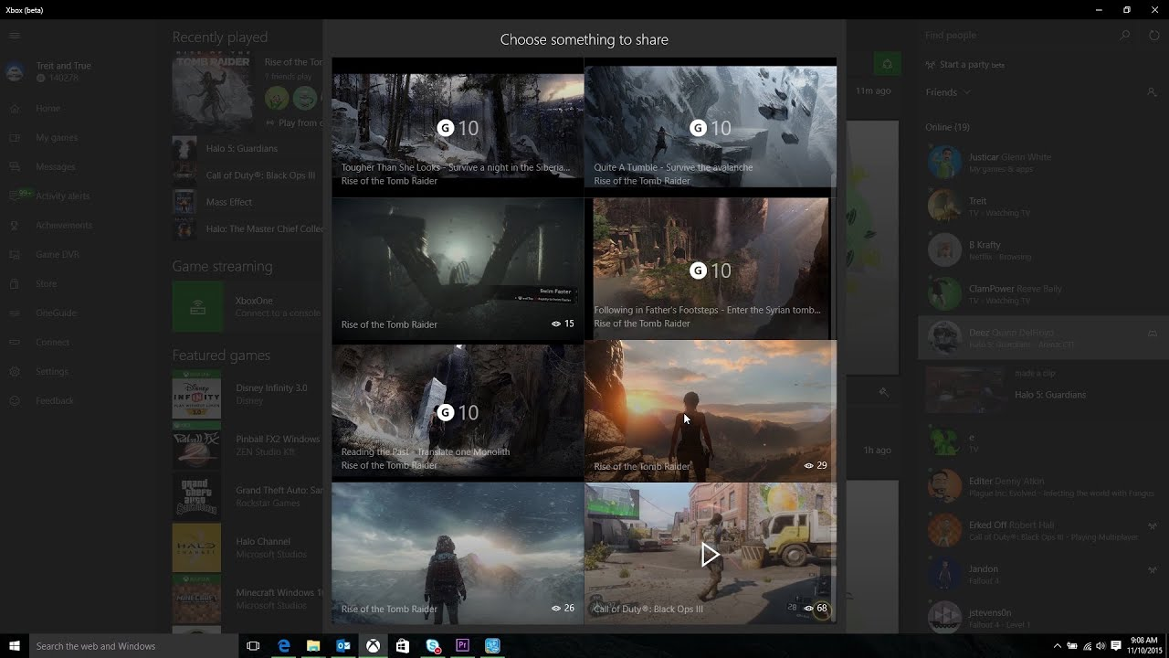 Video for Xbox App on Windows 10: Facebook Friend Finder and Other Updates Available Today