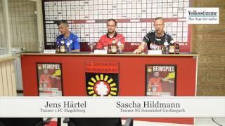 Pressekonferenz in Großaspach