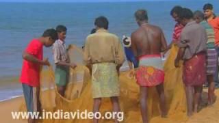 Fishermen at Shankhumugham
