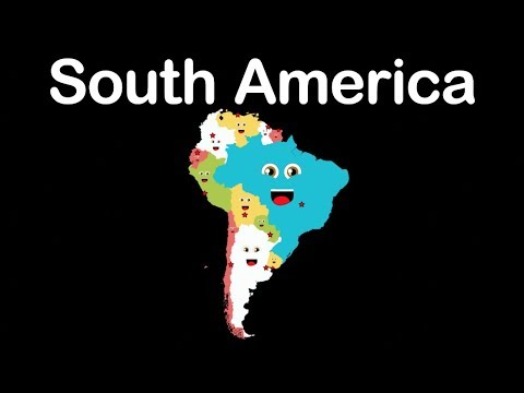 South America/South American Countries/South America Geography
