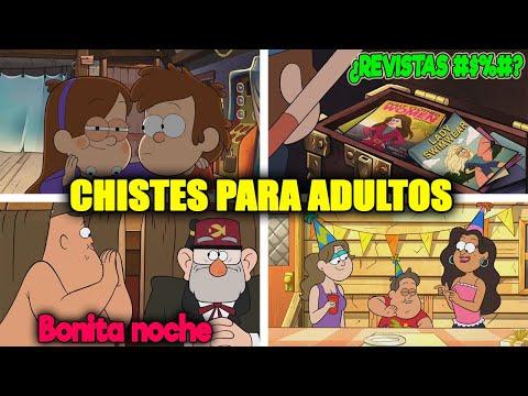 31 Chistes para Adultos Ocultos en Gravity Falls (Parte 3)