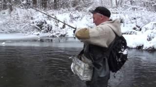 Ловля хариуса осенью на любимой горной речке