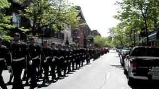 RHLI on Parade.Military, music band
