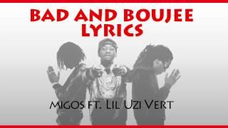 Migos  Bad And Boujee Ft Lil Uzi Vert Lyrics HD