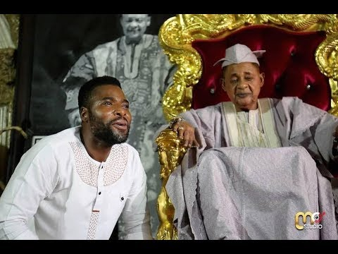 IBRAHIM CHATTA IS EXTRA ORDINARY TALENTED, SEE HOW HE PRAISE ALAAFIN OYO IN HIS PALACE