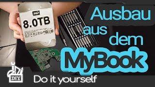 Festplatten GÜNSTIGER! MyBook Gehäuse demontieren