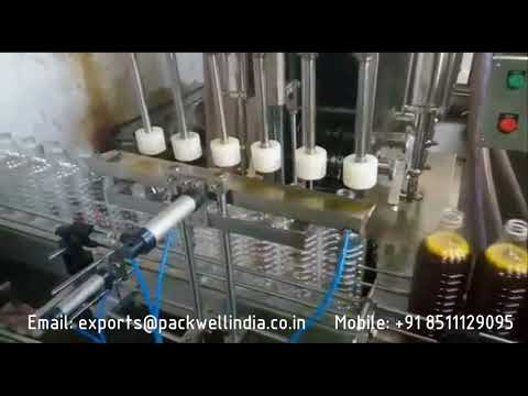 Automatic Mustard Oil Packaging Machine
