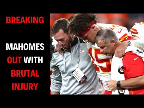 BREAKING NEWS   Patrick Mahomes OUT With BRUTAL Knee Injury