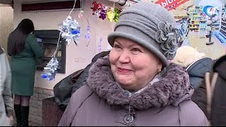 Новгородцы активно готовятся к празднованию Нового года