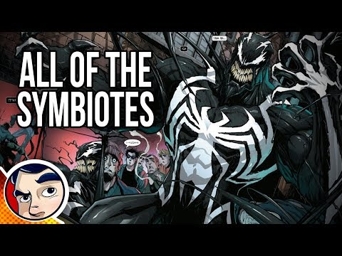 Venom All The Symbiotes – Know Your Universe