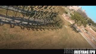 FPV穿越機視角 100公分的空域