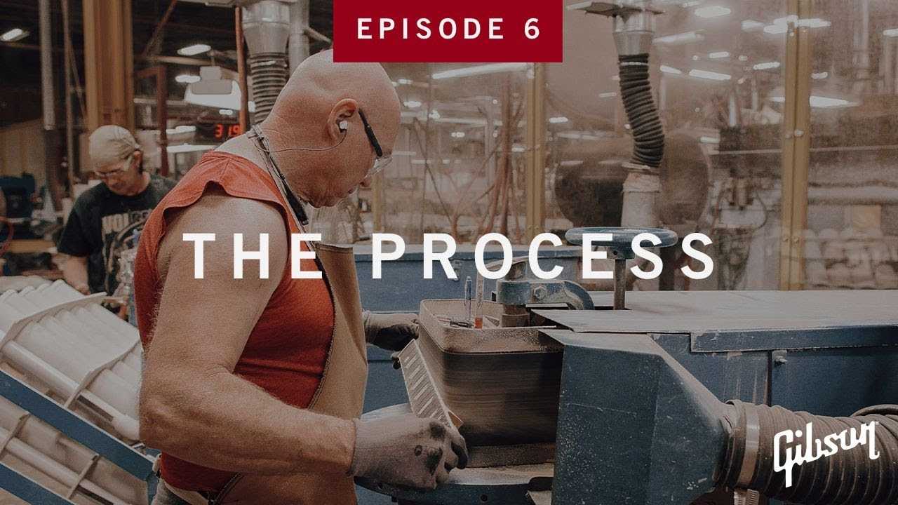 The Process: Episode 6 - Inside The Neck Line At Gibson USA