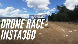 HD drone racing footage with the Insta360 Go by RooFPV