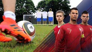 JABULANI Free Kick Challenge   Ronaldo's Road To The World Cup - EP. 1