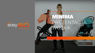 Прогулочная коляска EasyGO Minima sapphire от компании Beesel - видео