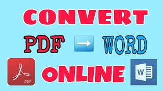 Convert PDF to WORD Online l Mag Convert Files
