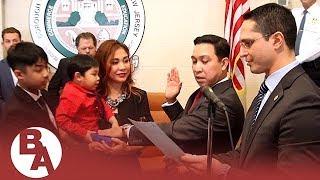 Arvin Amatorio sworn-in as second Filipino mayor of Bergenfield, NJ