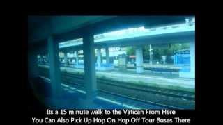 preview picture of video 'Civitavecchia To Rome By Train'