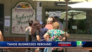 Business Picks Up In Lake Tahoe Area As Tourists Return Hoe Business