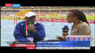 Experienced sprint coach Steven Mwaniki shares Kenya's chances in the World U18 Championships